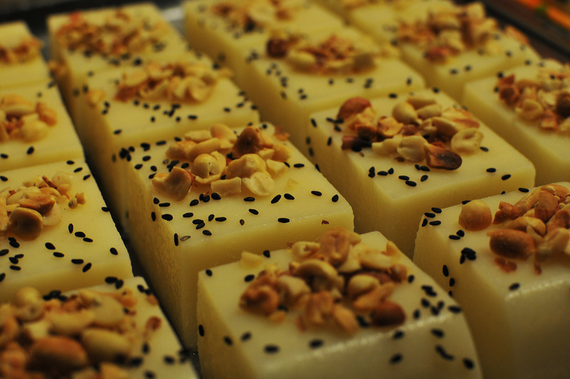 photo of Chinese desert with seeds and nuts