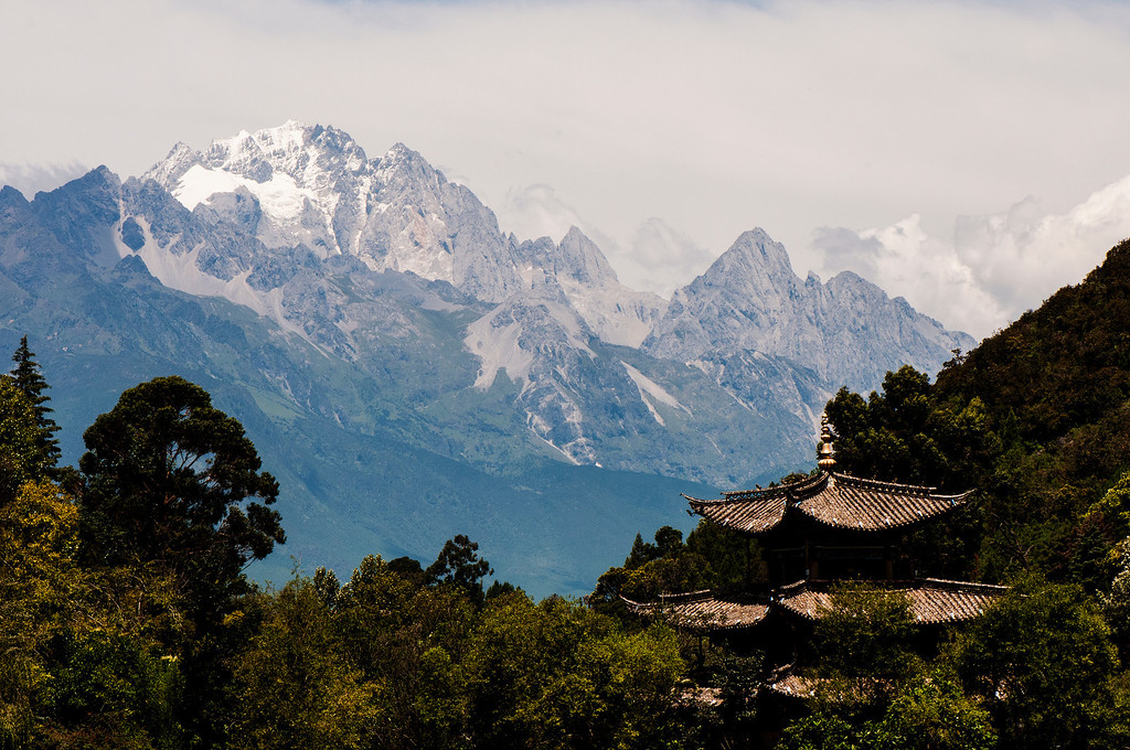 Jade Dragon Snow Mountain, 玉龙雪山 (Yùlóngxuě Shān)