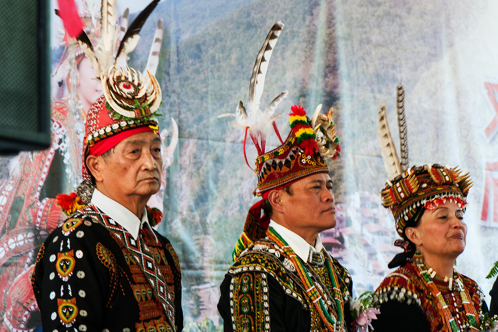 Elders at Rukai Wedding, Wan Shan Village, Taiwan