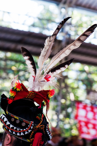 Headdress at Rukai Wedding, Wan Shan Village, Taiwan